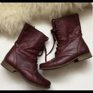 Steve Madden Troopa Boots 8.5